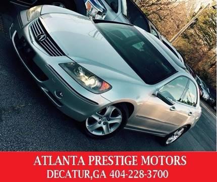 2005 Acura RL for sale at Atlanta Prestige Motors in Decatur GA
