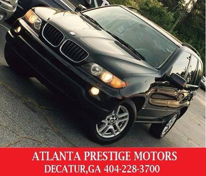 2006 BMW X5 for sale at Atlanta Prestige Motors in Decatur GA
