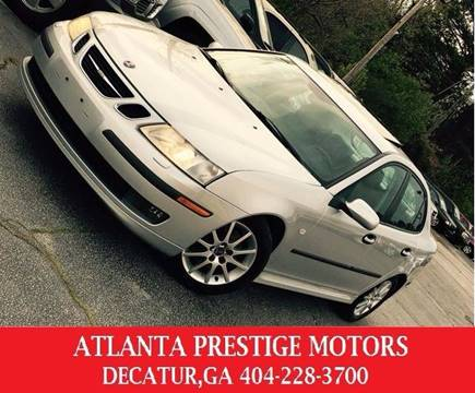 2003 Saab 9-3 for sale at Atlanta Prestige Motors in Decatur GA