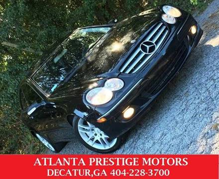 2008 Mercedes-Benz CLK for sale at Atlanta Prestige Motors in Decatur GA