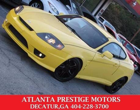 2006 Hyundai Tiburon for sale at Atlanta Prestige Motors in Decatur GA