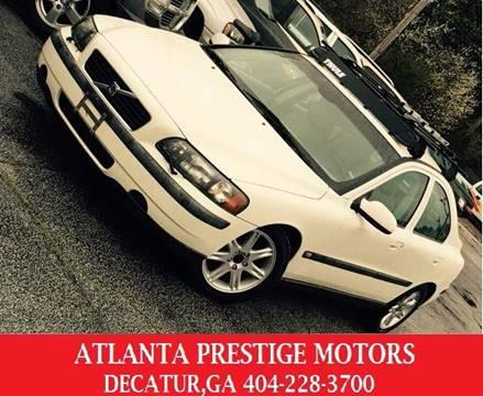 2003 Volvo S60 for sale at Atlanta Prestige Motors in Decatur GA