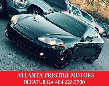 2008 Hyundai Tiburon for sale at Atlanta Prestige Motors in Decatur GA