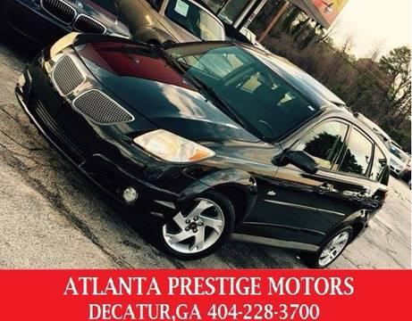 2006 Pontiac Vibe for sale at Atlanta Prestige Motors in Decatur GA