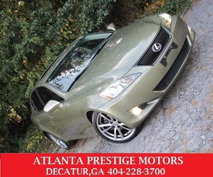 2008 Lexus IS 250 for sale at Atlanta Prestige Motors in Decatur GA