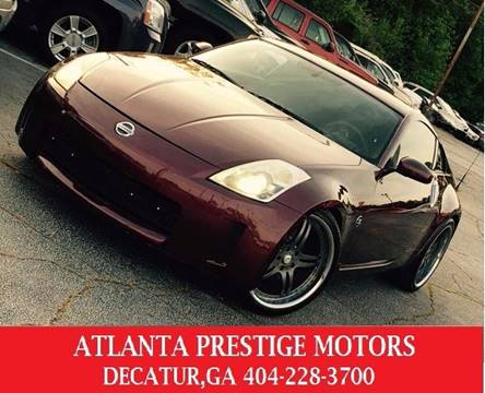 2006 Nissan 350Z for sale at Atlanta Prestige Motors in Decatur GA