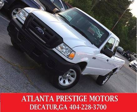 2010 Ford Ranger for sale at Atlanta Prestige Motors in Decatur GA