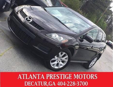 2007 Mazda CX-7 for sale at Atlanta Prestige Motors in Decatur GA