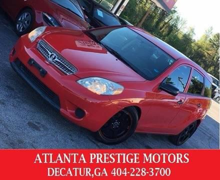 2005 Toyota Matrix for sale at Atlanta Prestige Motors in Decatur GA