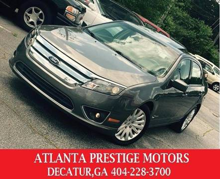 2010 Ford Fusion Hybrid for sale at Atlanta Prestige Motors in Decatur GA