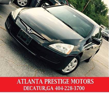 2005 Honda Accord for sale at Atlanta Prestige Motors in Decatur GA