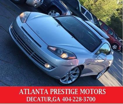 2007 Hyundai Tiburon for sale at Atlanta Prestige Motors in Decatur GA