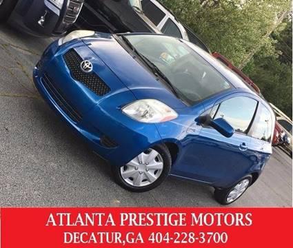 2008 Toyota Yaris for sale at Atlanta Prestige Motors in Decatur GA