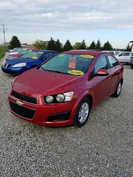 2015 Chevrolet Sonic for sale in Bad Axe, MI