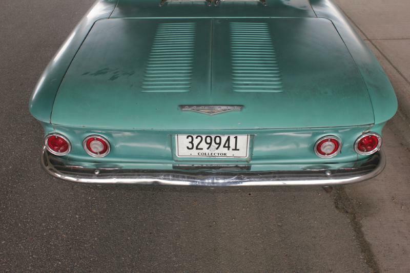 1961 Chevrolet Corvair for sale at Apple Auto in La Crescent MN