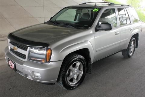 2008 Chevrolet TrailBlazer for sale at Apple Auto in La Crescent MN