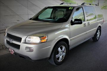 2007 Chevrolet Uplander for sale at Apple Auto in La Crescent MN
