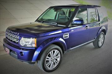2010 Land Rover LR4 for sale at Apple Auto in La Crescent MN