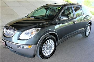 2012 Buick Enclave for sale at Apple Auto in La Crescent MN