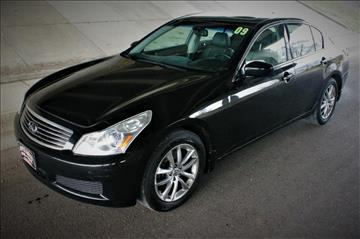2009 Infiniti G37 Sedan for sale at Apple Auto in La Crescent MN