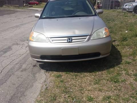 2001 Honda Civic for sale in Oklahoma City OK