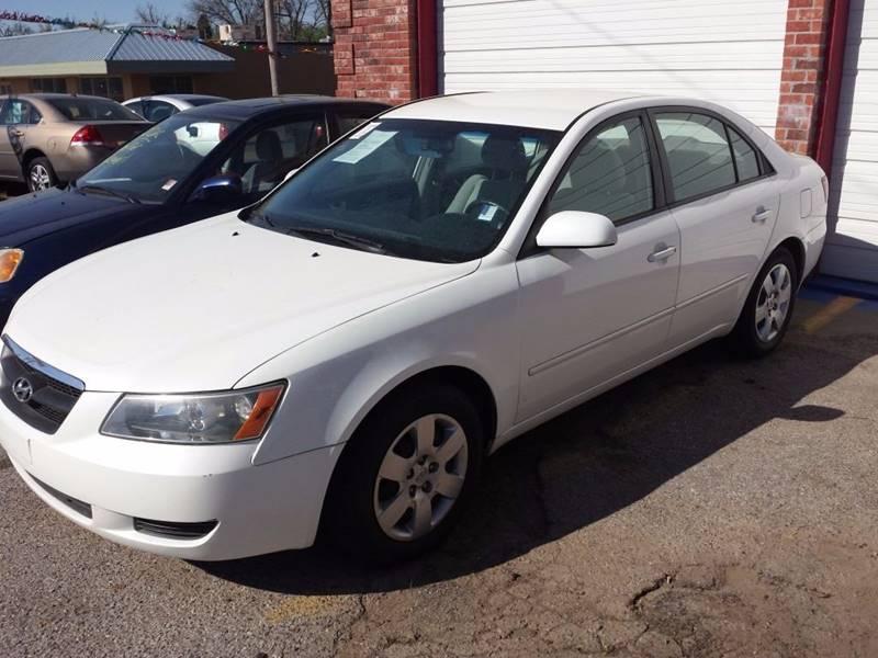 2008 Hyundai Sonata For Sale At Foraten Auto Sales In Oklahoma City OK