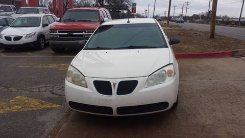 2008 Pontiac G6 for sale in Oklahoma City OK
