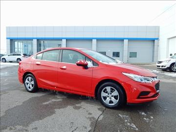 2017 Chevrolet Cruze for sale in Richmond, IN