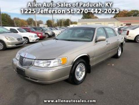lincoln town car for sale in kentucky. Black Bedroom Furniture Sets. Home Design Ideas