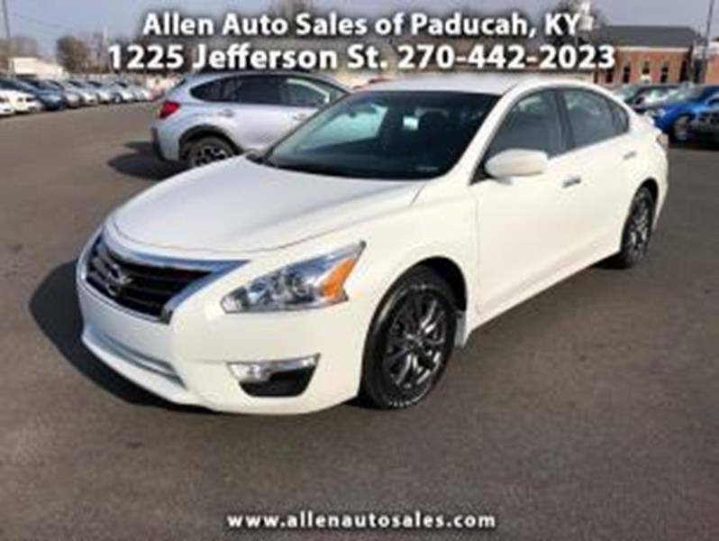 2015 Nissan Altima 2.5 S In Paducah KY - Allen Auto Sales Inc.