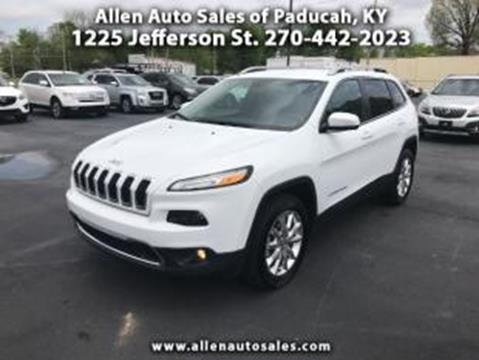 2016 Jeep Cherokee for sale in Paducah, KY