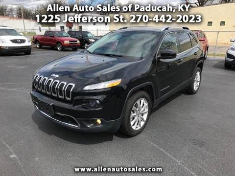 2017 Jeep Cherokee for sale in Paducah, KY