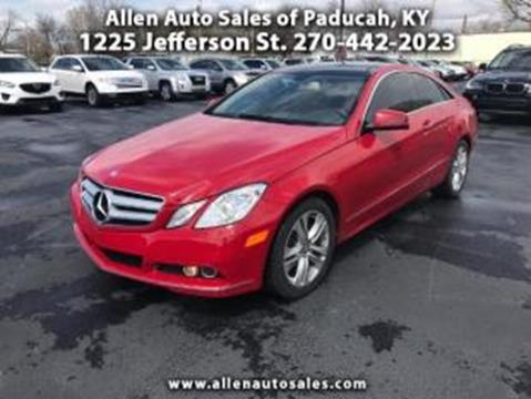 2011 Mercedes-Benz E-Class for sale in Paducah, KY