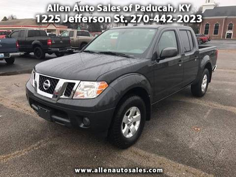 2012 Nissan Frontier for sale in Paducah, KY