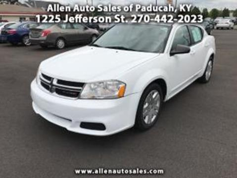 2012 Dodge Avenger for sale in Paducah, KY