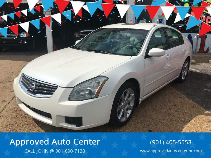 2008 Nissan Maxima For Sale At Approved Auto Center In Memphis TN