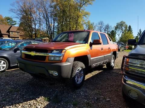 2003 Chevrolet Avalanche for sale in Conrath, WI