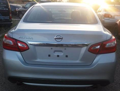 2016 Nissan Altima for sale in Las Vegas, NV
