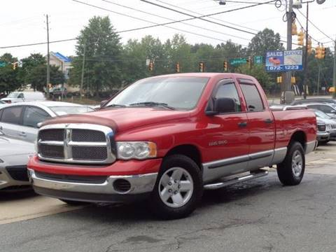 2002 Dodge Ram Pickup 1500 for sale in Raleigh, NC