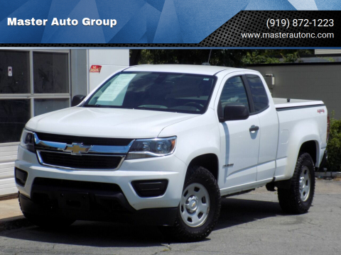 Chevrolet Colorado For Sale In Raleigh Nc Master Auto Group