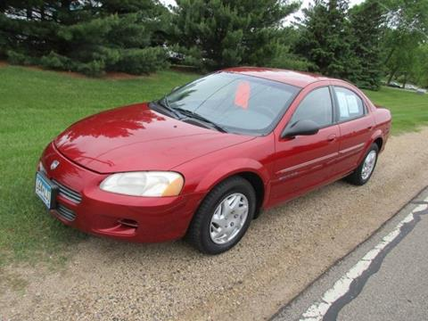 2001 Dodge Stratus for sale at HUDSON AUTO MART LLC in Hudson WI