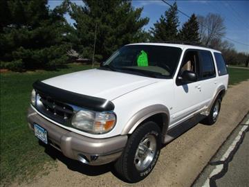 1999 Ford Explorer for sale at HUDSON AUTO MART LLC in Hudson WI