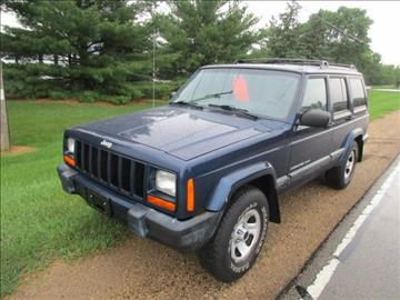 2001 Jeep Cherokee for sale at HUDSON AUTO MART LLC in Hudson WI