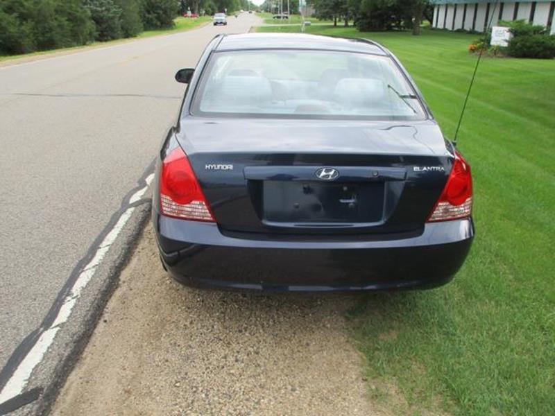 2005 Hyundai Elantra for sale at HUDSON AUTO MART LLC in Hudson WI