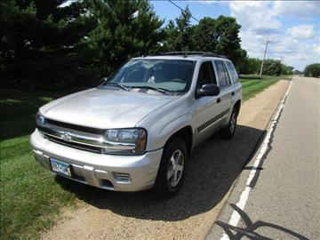 2005 Chevrolet TrailBlazer for sale at HUDSON AUTO MART LLC in Hudson WI