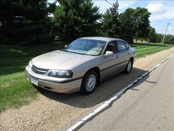 2002 Chevrolet Impala for sale at HUDSON AUTO MART LLC in Hudson WI