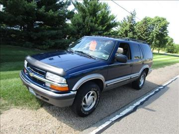 2000 Chevrolet Blazer for sale at HUDSON AUTO MART LLC in Hudson WI