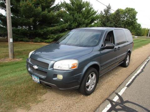 2007 Chevrolet Uplander for sale at HUDSON AUTO MART LLC in Hudson WI