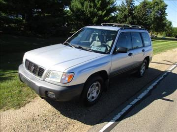 2002 Subaru Forester for sale at HUDSON AUTO MART LLC in Hudson WI