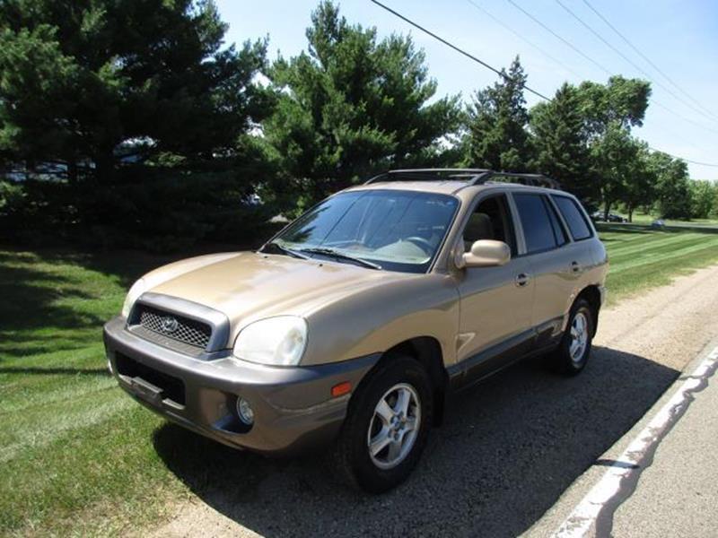 2002 Hyundai Santa Fe For Sale At HUDSON AUTO MART LLC In Hudson WI